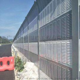 广州高架桥声屏障图片 高速公路隔音屏 道路隔声屏障