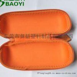 厂家定制橘黄色eva便携式EVA茶具包装盒