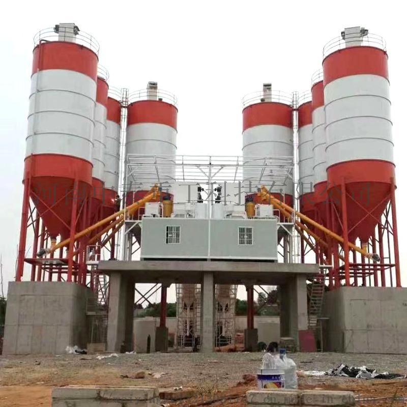 中泰重工HZS240大型混凝土搅拌站