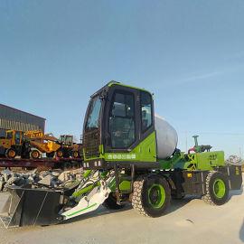 YG-40搅拌车 自上料水泥运输车 多功能搅拌机