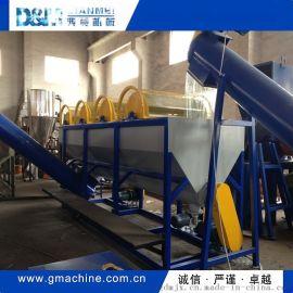 HDPE清洗回收造粒生产线