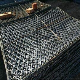 菱形钢芭片哪里便宜 75*1.2建筑高层防护网