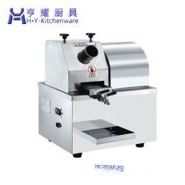 甘蔗榨汁机多少钱一台 上海榨甘蔗汁的机器 不锈钢电瓶甘蔗榨汁机