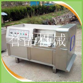 微冻肉切片切丁机-三维冻肉切丁机350型现货