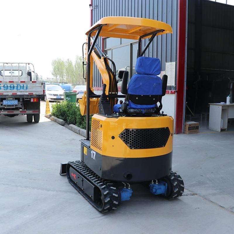 厂家定制小型挖土机 加长臂挖掘机 小挖机