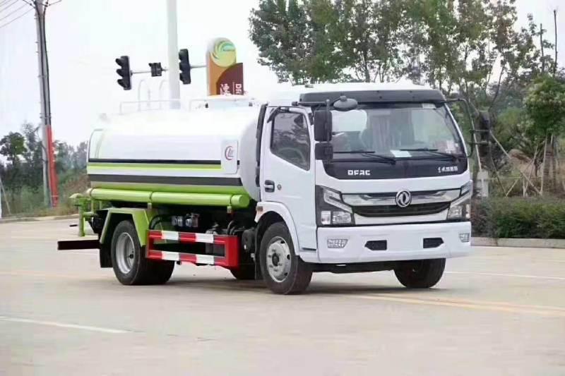 国六东风凯普特8方绿化喷洒车