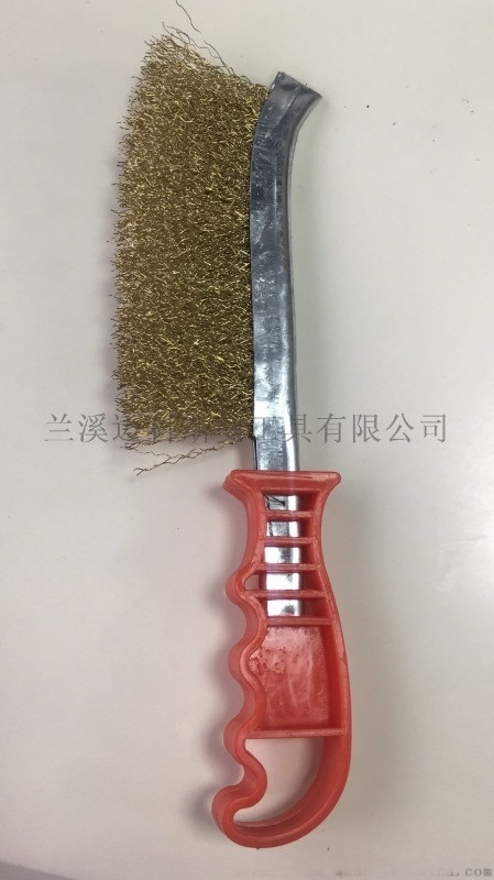 刀型鋼絲刷(鍍銅絲鋼絲刷)