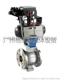 Q647F/PPL气动固定式球阀