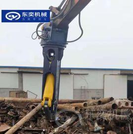 厂房钢结构拆除剪钢筋 挖机用鹰嘴液压剪