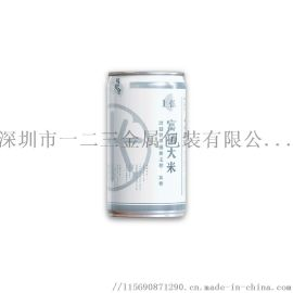厂家直销优质马口铁罐大米易拉罐圆形高端礼盒310g