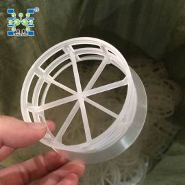 供应PP 76mm塑料阶梯环填料 PP阶梯环填料