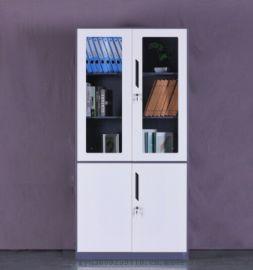 拆装文件柜钢制办公柜资料柜储物柜 灰白套 文件柜