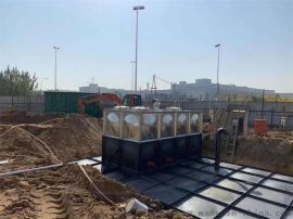 BDF大模块抗浮地埋式箱泵一体化与常规水箱