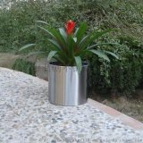 鈦金花器 電鍍花盆 加工定製花盆花器