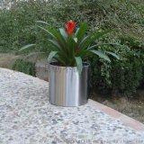 钛金花器 电镀花盆 加工定制花盆花器
