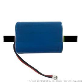 18500两串**电池 7.4V榨汁机 热敏打印机宠物洗脚机1200mAh**电池