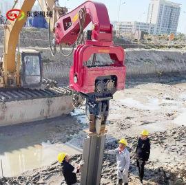 挖掘機液壓打樁機