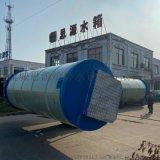 綿陽玻璃鋼一體化污水提升泵站防澇排污