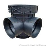 湖南長沙塑料檢查井流槽直通井630的安裝流程