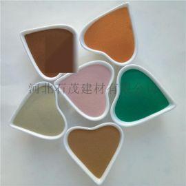 石茂供应彩色玻璃微珠 超细玻璃微珠 喷砂机微粉
