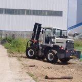 全新5吨柴油越野叉车 四驱3.5吨液压升降堆高叉车