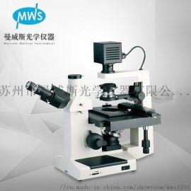 无限远倒置生物显微镜检测细菌培养实验显微镜