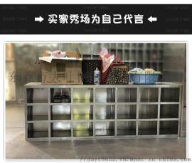 广州市不锈钢员工碗柜-学生食堂不锈钢碗柜(扎实)