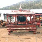昌东供应铸铁长方形香炉,铸铜长方形八龙柱香炉厂家