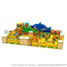 室内淘气堡 金桔儿童乐园设施