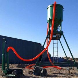 仓储石膏粉送料气力输送机远距离吸送粉煤灰装车设备