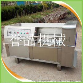 肉类切丁机多少钱一台-商用多功能冻肉鲜肉切丁机