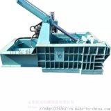 金属成型设备 大型废钢液压金属压块机