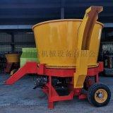 圓盤式牧草粉碎機 ,全自動旋切式秸稈粉碎機