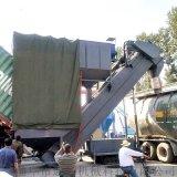 湖南集装箱水泥粉自动倒料设备粉煤灰卸集装箱中转设备