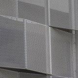 墙面装饰冲孔铝板网给幕墙融入时尚的气质