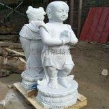 漢白玉石雕童子善財童子童男童女佛像雕塑
