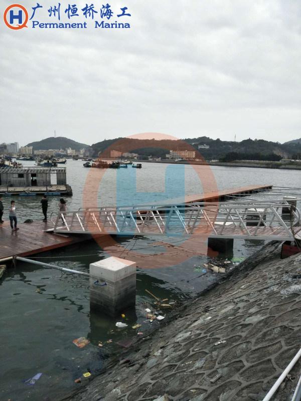 撑杆撑杆固定组合式浮动码头
