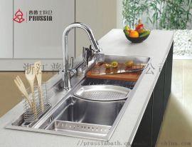 普鲁士水槽,不锈钢水槽双槽
