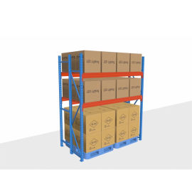 广东仓储横梁托盘式重型货架,大型仓库卡板货架