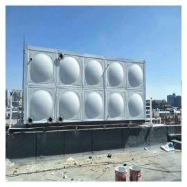 立式不锈钢水箱 霈凯 消防水箱