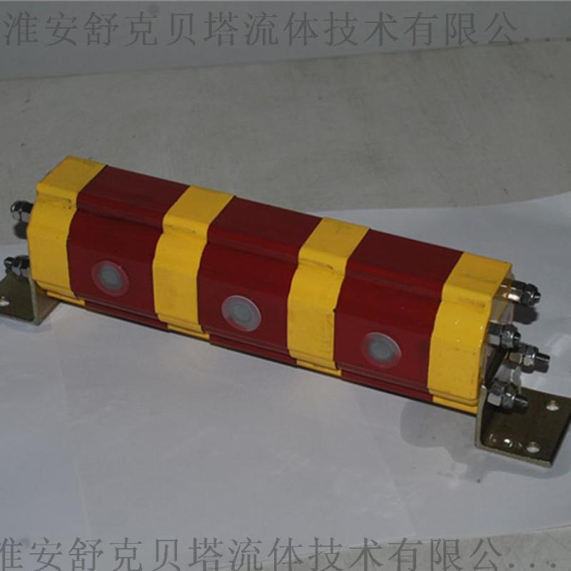 FD02系列2分4齿轮同步分流器(铝合金)