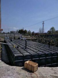分析抗浮式地埋箱泵一体化水箱组成