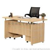 简易板式办公桌职员写字台主管经理桌东莞办公家具厂
