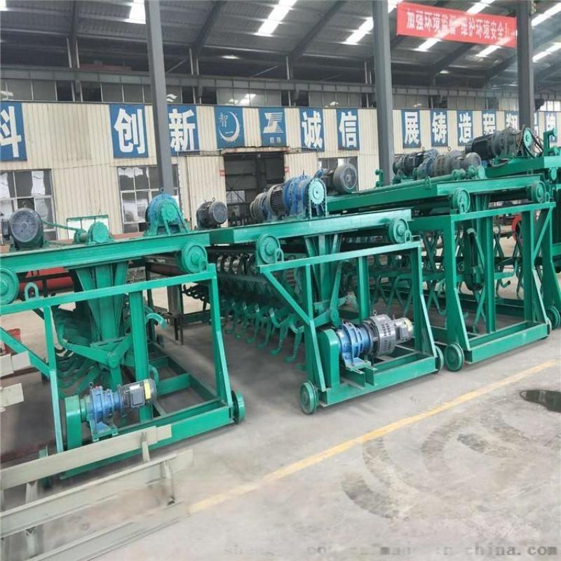 牛糞發酵有機肥翻拋機 槽式翻堆機液壓可升降有機肥廠專用設備