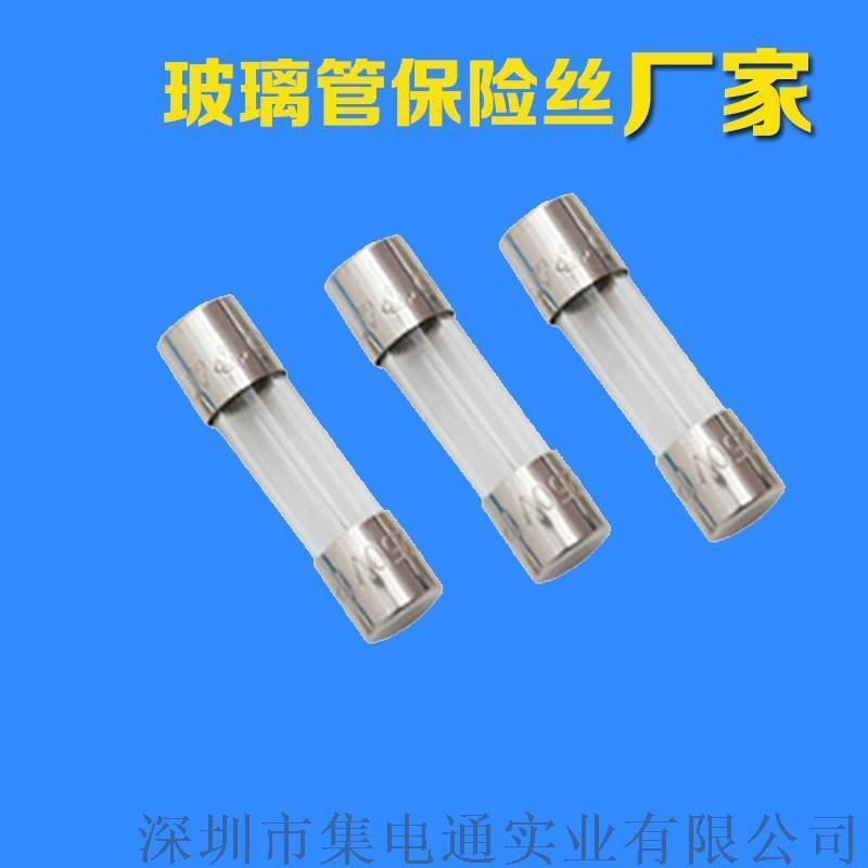 6*30玻璃保險絲集電通10A慢斷保險管