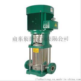 立式多级 不锈钢冷热水循环水泵 自来水管道增压泵