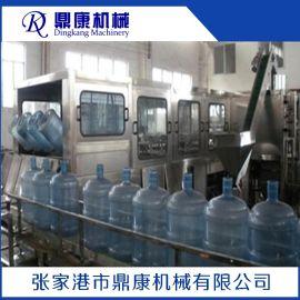 全自动桶装水生产线 直线灌装机