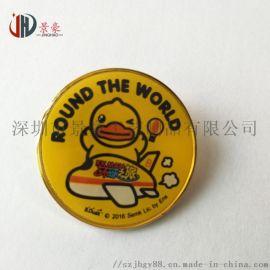 五金卡通牌哪里可以做 深圳制作五金卡通金属胸章