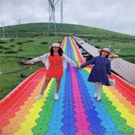 高硬度彩虹滑梯 七彩滑梯硬度实测