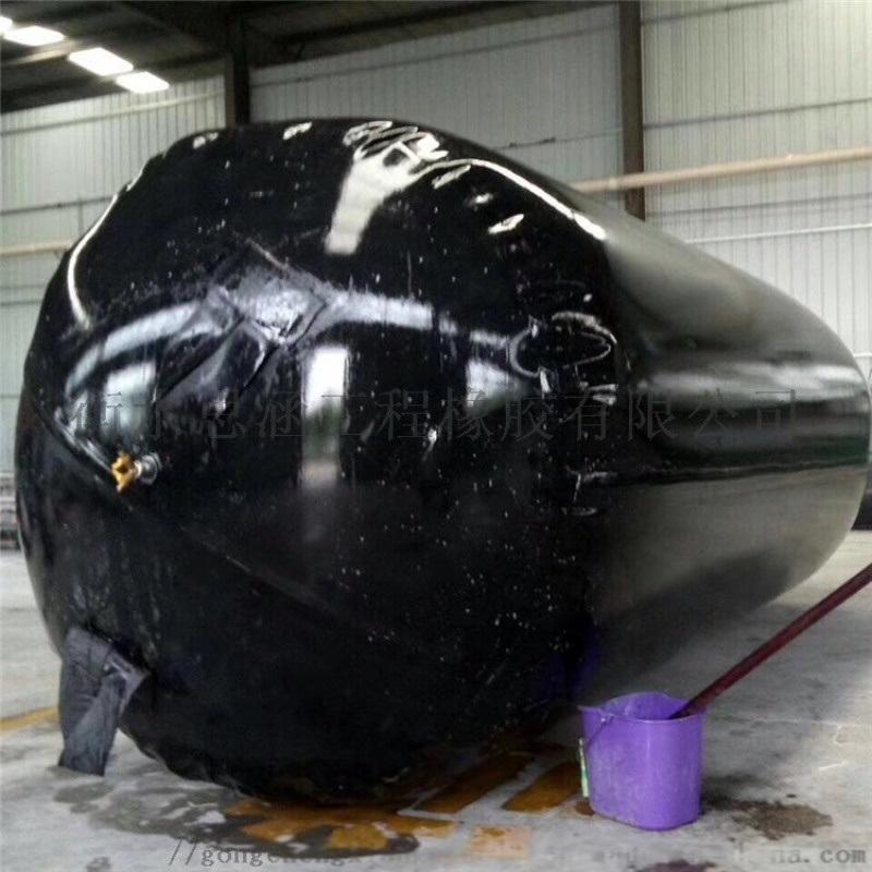 管道橡膠堵水氣囊 充氣式下水管道封堵氣囊